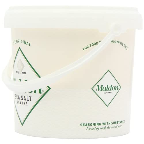 durable service Maldon Sea Salt Flakes 1 5kg/3 3lbs Tub - avico fi