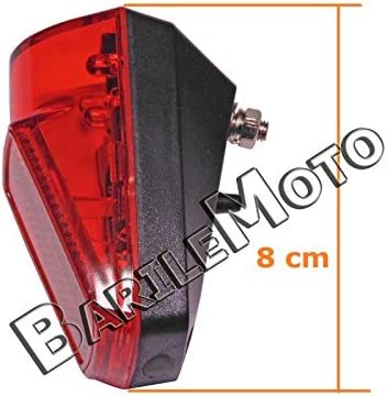 Tail Light//Lighthouse//headlight 3 LED Bike Holland-R-Graziella Chrome