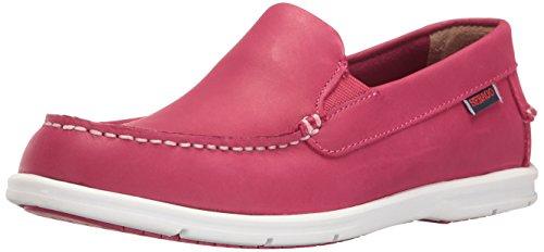 Sebago Kvinna Liteside Slip-on Loafer Rött Läder