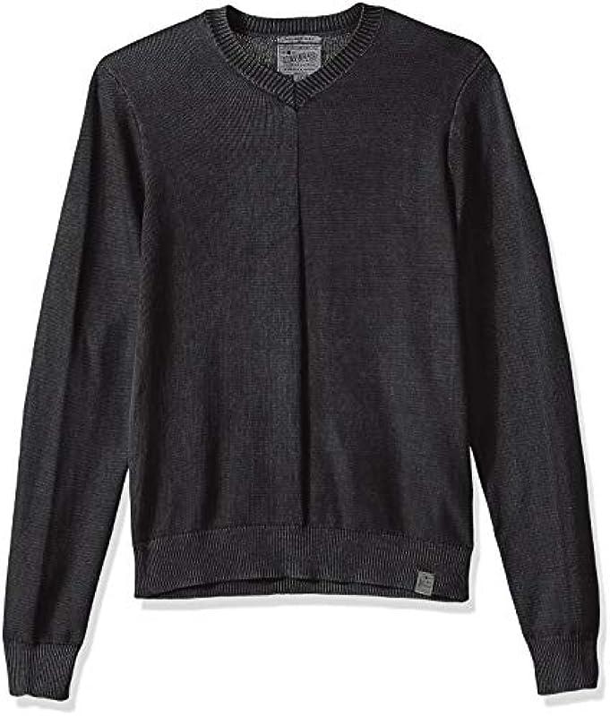 Lucky Brand męski sweter z dekoltem w serek: Odzież