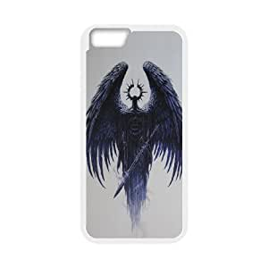 """HEHEDE Phone Case Of Wings of death SKULL For iPhone 6 (4.7"""")"""