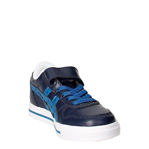 Asics C4D0Y..5045 Zapatillas De Deporte Boy Cuero Sintético Azul Azul