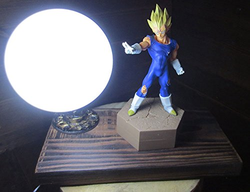 Dragon Ball series Genki Dama Spirit Bomb LED Table Lamp (Vegeta) by Aurookeb