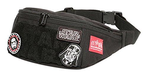 [マンハッタン ポーテージ] ウエストバッグ 公式 STAR WARS Alleycat Waist Bag MP1101STARWARS17 B077ZM7Z6N  ブラック