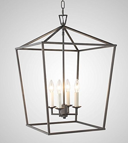 Cage Pendant Light Fixture in US - 8