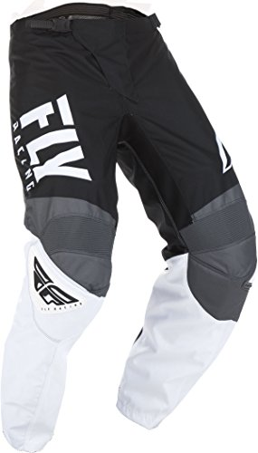 (Fly Racing 2019 Youth F-16 Pants (22) (BLACK/WHITE/GREY))