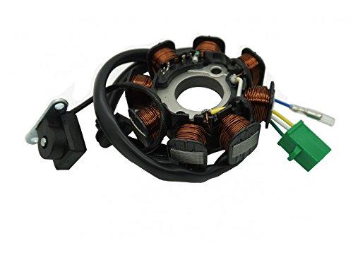 Magneto Assembly - 8 poles coils magneto DC Stator Assembly GY6 50CC