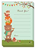 Recycled Thank You Paper- 25 Thank You Paper/Notes with Matching Green Recycled Envelopes