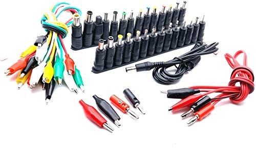 Universal AC DC Jack Charger Connector Plug for Laptop/Notebook AC DC Power Adapter with Cable 1 Set /38pcs -  Isali, ISL-772BB9FBACCF2EE52CD8E7073B88332F