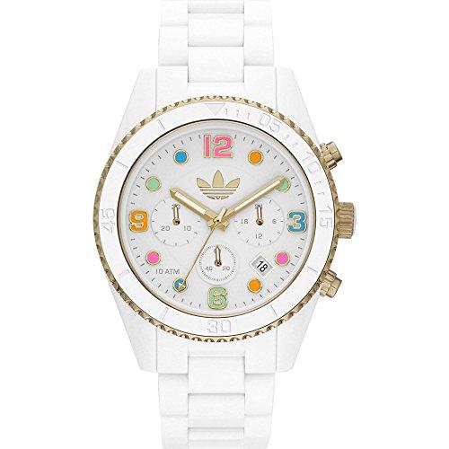 Adidas x-Reloj cronógrafo de Cuarzo Acero Inoxidable Brisbane ADH2945: Amazon.es: Relojes
