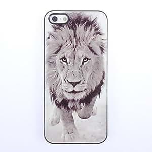 LZX Lion Design Aluminium Hard Case for iPhone 5/5S