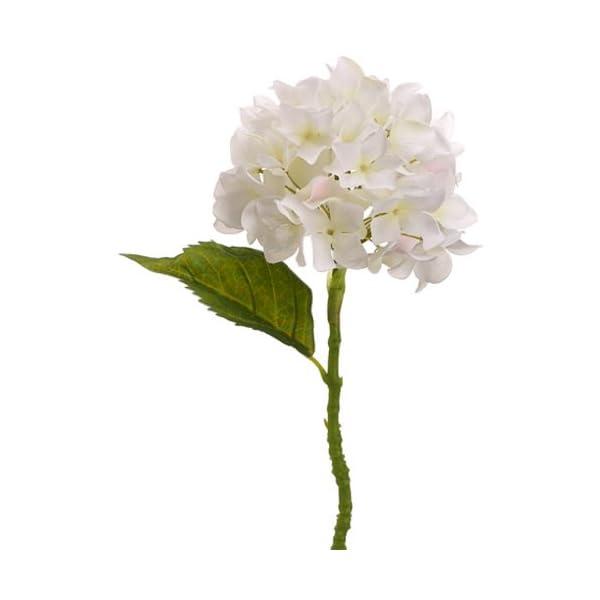 13.5″ Hydrangea Spray Cream (Pack of 12)