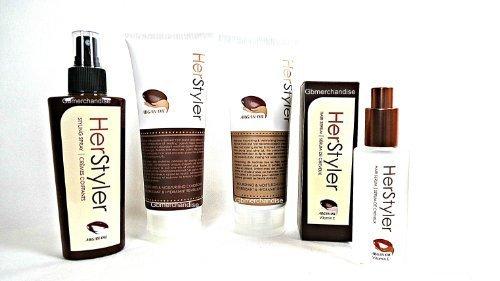 Herstyler Hair Serum, Spray,shampoo & Conditioner with Ar...