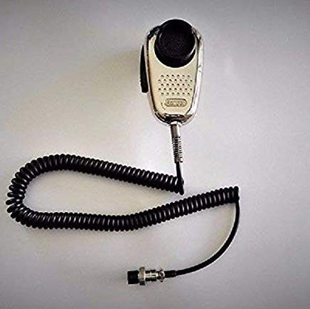 - Ranger SRA-198 Chrome Edition Cb Ham Radio Noise Canceling Mic 4 Pin Wired