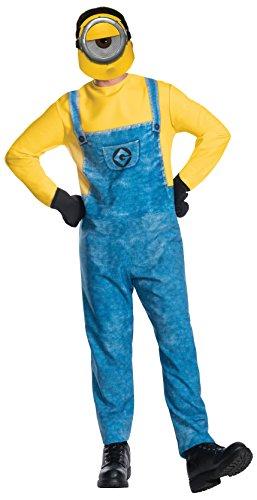 Rubie's Men's Despicable Me 3 Movie Minion Costume, Dave, - Minion Costume