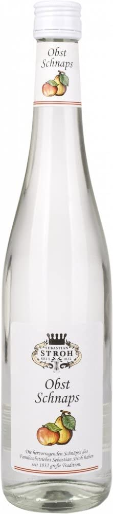 Stroh Obst Apple and Pear Schnapps - 700 ml