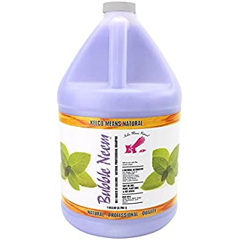 Kelco KE300500 Bubble Neem Shampoo, 50:1 Gallon
