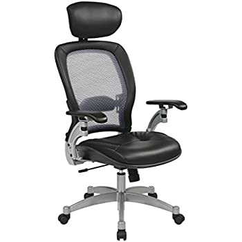 Amazoncom Office Star Professional Light Air Grid Back Chair