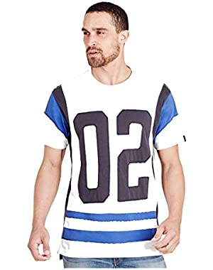 Men's TR 02 Elongated Tee T-Shirt in Optic White