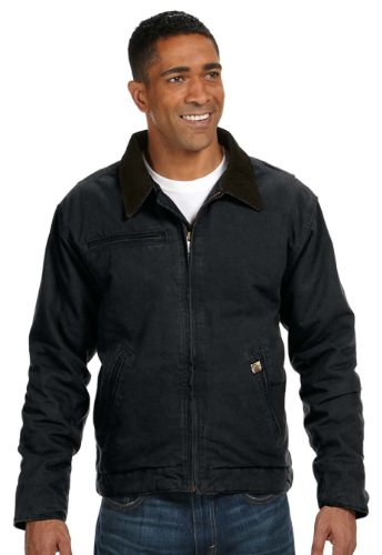 Dri-Duck Outlaw Boulder Cloth Jacket with Corduroy Collar. 5087 4XL (Outlaw Boulder Cloth Jacket)