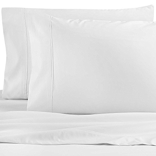 Wamsutta Dream Zone 1000-Thread-Count PimaCott Queen Sheet Set in White