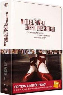 Les chaussons rouges - Le narcisse noir - Colonel Blimp - Coffret - Edition  Limitée Fnac dff27ae40675