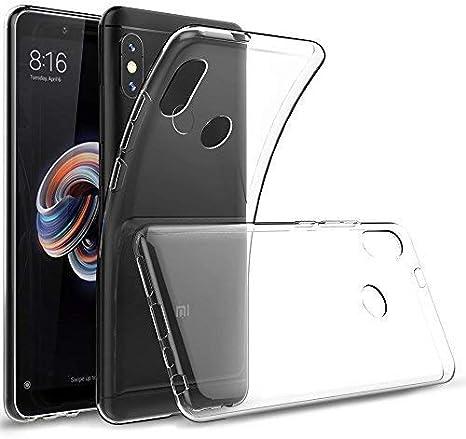 """Cover Xiaomi Redmi Note 5 Pro, GeeRic [Slim Thin] Custodia Puro Trasparente Morbida TPU Silicone Ultra Sottile Case per Xiaomi Redmi Note 5 Pro / Mi 6X 5.99"""""""