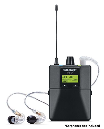 Shure P3RA Professional Bodypack Receiver for PSM300 Stereo Personal Monitor System, J13 by Shure (Image #3)