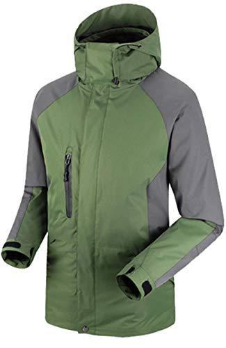 bb925d3729 Jual YXP Men s Waterproof Ski Jacket Double Layer Fleece Jacket ...