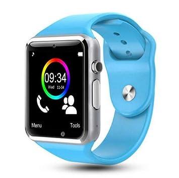 A1 Reloj Inteligente Soporte Tarjeta SIM TF Whatsapp Reloj ...