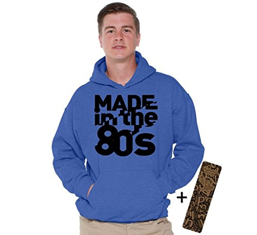 Made In the 80s Hoodie Sweatshirt in 6 Colors. S to XXXXXL