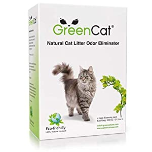GreenCat Natural Cat Litter Odors Eliminator