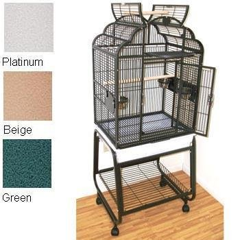 HQ's Opening Victorian Cage, Small Parrot Cage With Cart Sta
