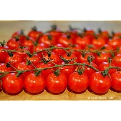 Grandiosy Large Cherry TOMATOMEDICINAL ANTIOXIDANT 25 Seeds HEALTHFUL Firm Fruit : Garden & Outdoor