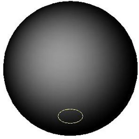 1 Each 1//4-20 thds Brass. 3//4 dia. Inch Black Phenolic Plastic Ball Knob