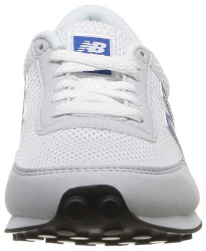 New Balance 410, unisex-adults Trainer weiß / blau