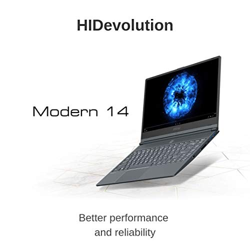 Comparison of HIDevolution MSI Modern 14 A10RB (MS-Modern14459-HID7) vs ASUS ZenBook 14 (90NB0JR2-M00620)
