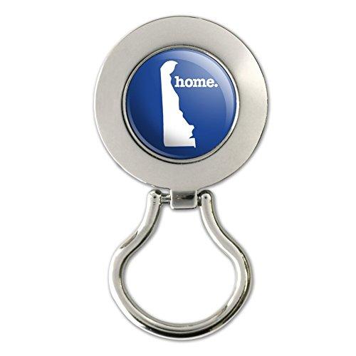 Delaware DE Home State Solid Navy Blue Officially Licensed Magnetic Metal Eyeglass ID Badge - Delaware Eyeglasses