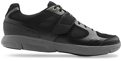 Giro Grynd Schuhe & E-Tipp Handschuh Bundle Schwarz / Kringel