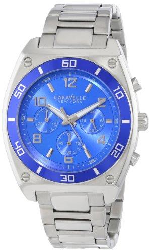 Caravelle Mens Bracelet - Caravelle New York Men's 45A109 Stainless Steel Bracelet Watch