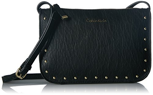 Calvin Klein Cora Bubble Lamb Novelty Crossbody, Black