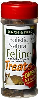 product image for Bench & Field Holistic Natural Feline Treats, 3-Ounce Jars (Pack of 6)