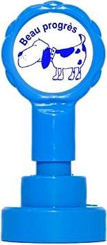 Teacher Stamps BR032cm insegnante auto-inchiostrazione timbro set per Bravo colore casuale BR032CM