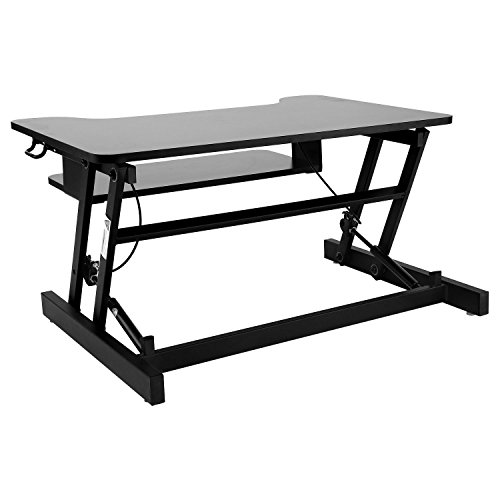 Adjustable Standing Desk, Wide Sit Sturdy Standing Desk With Retractable  Keyboard Tray [US STOCK