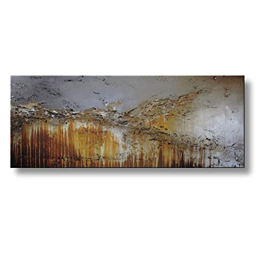 Extra Large Modern Abstract Canvas Wall Art. Limited Edition, Hand Embellished Giclee on Canvas, HUGE! 60 x 24 x 1.5 Ready to Hang!