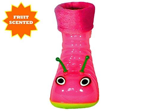 Beastie Shoes Children's Waterproof Rain Boots Cartoon Animals Toddler/Little Kid (26 (8 M US Toddler), Pink) by Beastie Shoes (Image #5)
