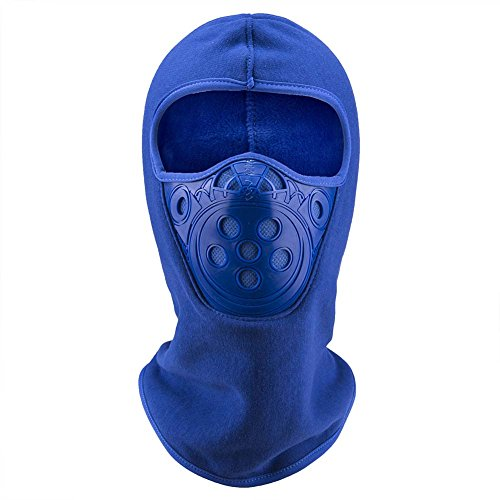 ONLY U Balaclava Ski Mask Premium Full Face Windproof Ski Mask For Men and Women Motorcycle Neck Warmer Mask or Winter Anti-Dust Balaclava Hood Hats (Full Face Weather Mask)