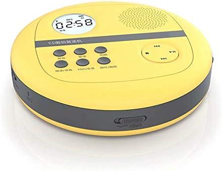 ポータブルCDプレーヤー-充電式外部スピーカーTF再生リピート学習音楽MP3ウォークマン語学学習出生前教育出生前トレーニング