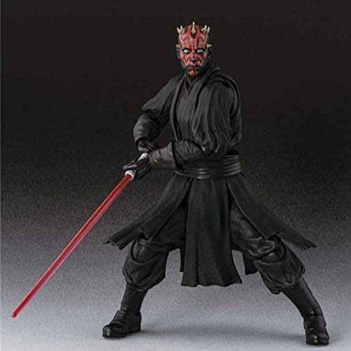 hvc SHF Darth Maul Star Wars Action & Toy Figures Anime Figure Collectible Figurines Action Toys Boys Girls Kids Lover Children Gift -