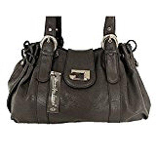 JENNIFER JONES elegante Tasche Damentasche Schultertasche Clutch Abendtasche Shopper Bag SCHWARZ